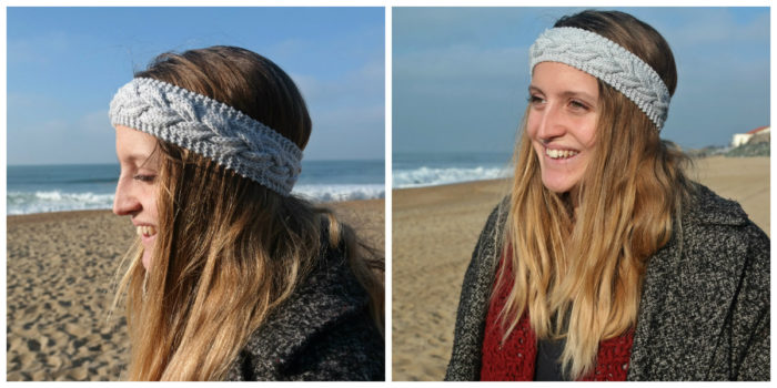 collage headband Oona